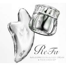 Крем ReFa EXPRESSION GLOSSY CREAM & аппликатор FACE CAXA SET